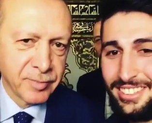 Erdoğan, Bursalı gencin isteğini geri çevirmedi!