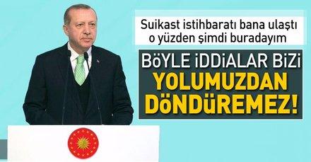 Erdoğan, Bosna Hersek'te suikast iddialarına cevap verdi