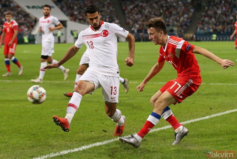 A Milli Takımımız, UEFA Uluslar Ligi'ndeki üçüncü maçında Rusya'ya 2-0 mağlup oldu