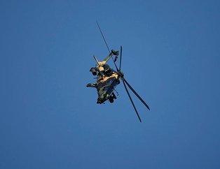 Milli helikopter ATAK'tan nefes kesen gösteri