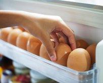 Yumurtayı yıkayarak dolaba koymayın! Öldürüyor...