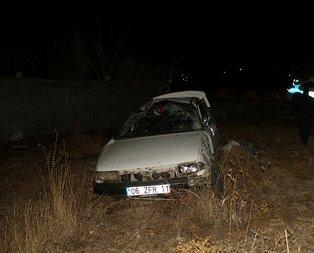 Ankara'da gece yarısı acı kaza