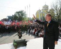 Başkan Erdoğan Gagauz Türklerine müjdeyi verdi