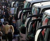 Şehirler arası otobüs seferleri başladı mı?