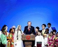 Başkan Erdoğan'da çocuklara tavsiye