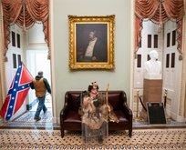 ABD'deki Kongre baskınından tarihi kareler!