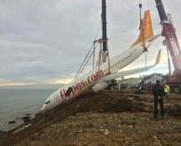 Kaza yapan Pegasus uçağında neler yaşandı?