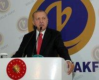 Erdoğan: Darbecileri ağırlayanlar bize hukuk dersi veremez