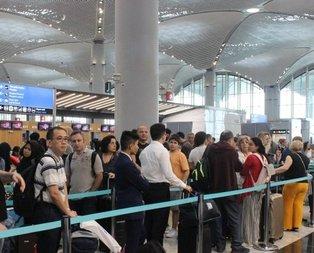 İstanbul Havalimanı'nda ara tatil yoğunluğu