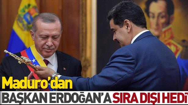 Image result for Maduro'dan başkan Erdoğan'a sıra dışı hediye
