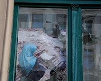 Avrupa'nın göbeğinde camiye ırkçı saldırı