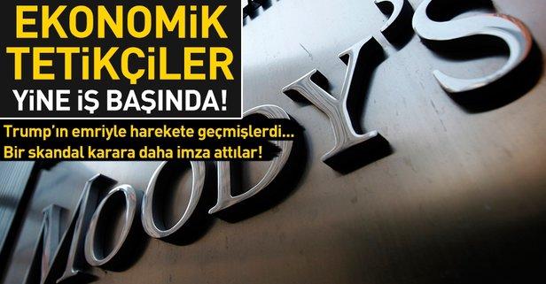 Moody's'ten skandal Türkiye kararı