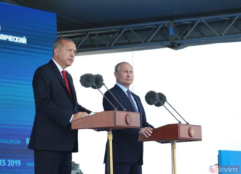 Başkan Erdoğan'dan SU-57 savaş uçağına özel ilgi!