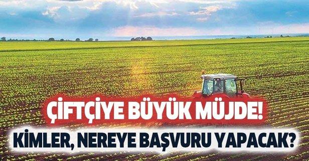 Hazine arazilerinin çiftçiye tarım arazisi olarak kiralama şartları nedir?