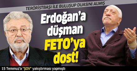Başkan Erdoğan düşmanı Metin Akpınar FETÖ elebaşı Gülen ile görüşüp özür dilemiş
