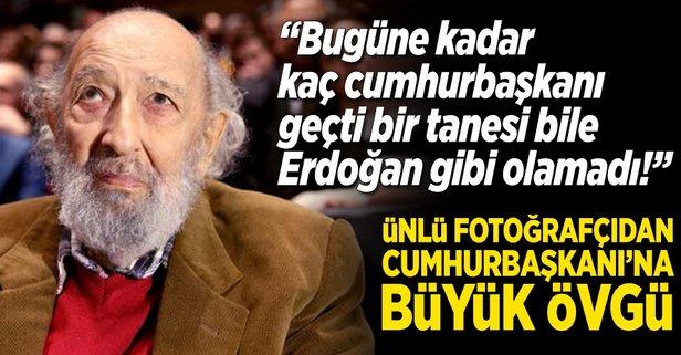 Ara Gülerden Erdoğana büyük övgü