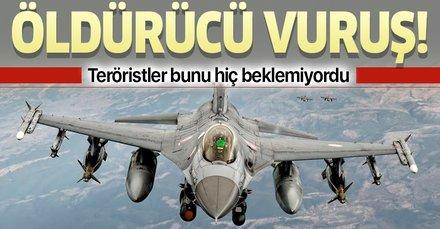 PKK'ya Karacak Dağı'nda öldürücü vuruş! İHA'lar buldu, F-16'lar vurdu