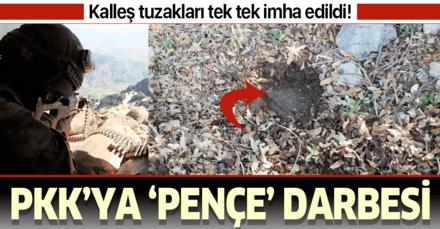 Bakanlık paylaştı! Pençe-3 Harekatı'nda PKK'nın kalleş tuzakları tek tek imha edildi!