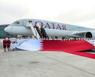 Dünyanın en güçlü uçağı Airbus A350-1000 Katarda