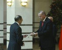 Başkan Erdoğan'a güven mektubu