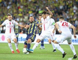Kanarya evinde dağıldı   Fenerbahçe 0-1 Antalyaspor (Maç sonucu)