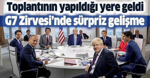 G7 Zirvesi'nde sürpriz gelişme