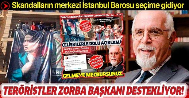 DHKP-C'den Durakoğlu'na destek