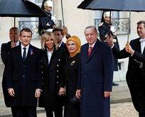 Dünyanın gözü Pariste! Başkan Erdoğan Elysee Sarayına geldi