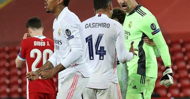 Liverpool yapamadı! Real Madrid yarı finalde...
