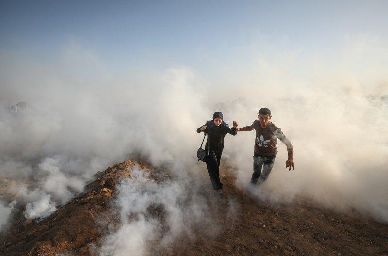 İsrail, Filistinli kadınlara gerçek mermi ve gazla saldırdı