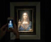Da Vincinin eserine servet ödendi