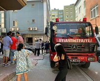 Ataşehir'de iş merkezinde yangın paniği