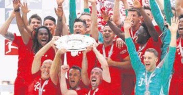 Almanya'da şampiyon Bayern Münih oldu