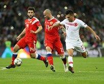 Rusya: 2 - Türkiye: 0 | Maç Sonucu
