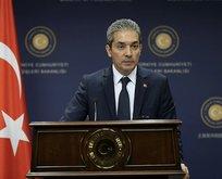 Dışişleri Bakanlığı Sözcüsü Aksoy'dan TPAO'ya cevap geldi