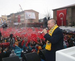 Başkan Erdoğan'dan Muş'ta önemli açıklamalar