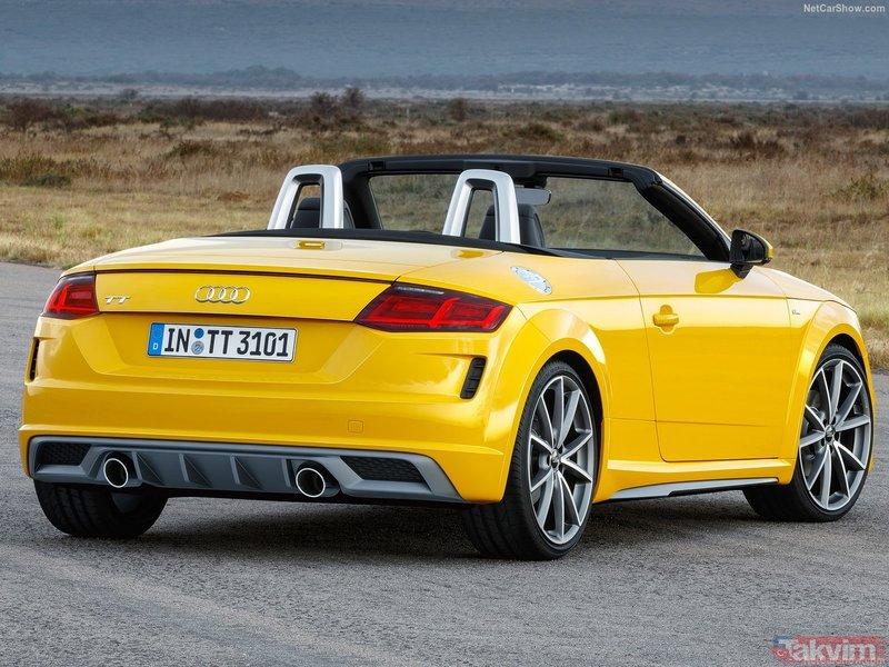 2019 Audi TT Coupe ve Audi TT Roadster için geri sayım başladı!