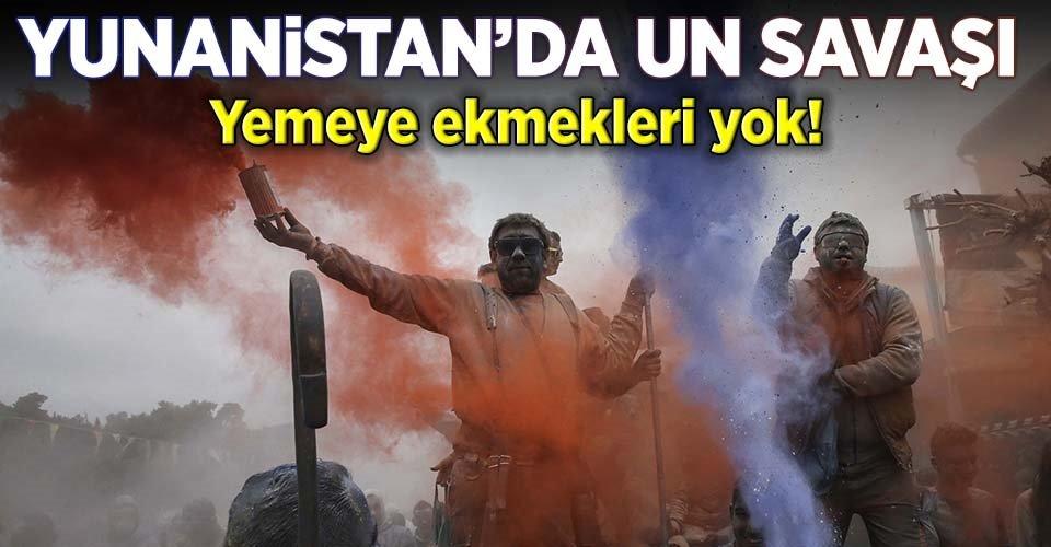 Yunanistanda un savaşı
