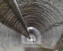675 milyon liralık tünellerin yüzde 80'i tamamlandı