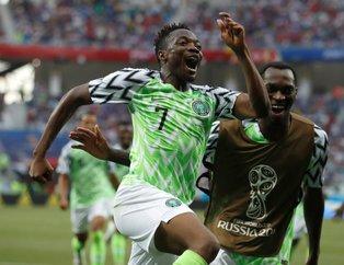 Ahmed Musa Nijerya'ya hayat verdi