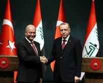 Başkan Erdoğan, Berham Salih ile görüşecek