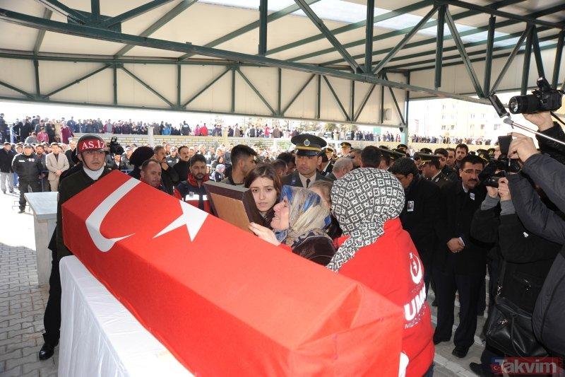 Helikopter kazasında şehit düşen Astsubay Üstçavuş Yakup Avşar son yolculuğuna uğurlandı