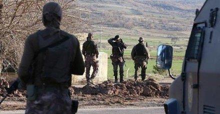 Diyarbakır'daki terör örgütü PKK'ya yönelik operasyon