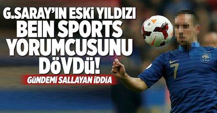 Galatasaray'ın eski yıldızı Ribery BeIN SPORTS yorumcusunu dövdü