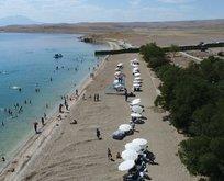 Van terörden kurtuldu, kadınlara özel plaj kuruldu