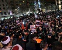 Berlinde Halep için dayanışma mitingi
