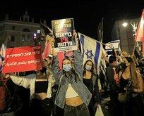 İsrail'de Netanyahu karşıtları sokaklara döküldü