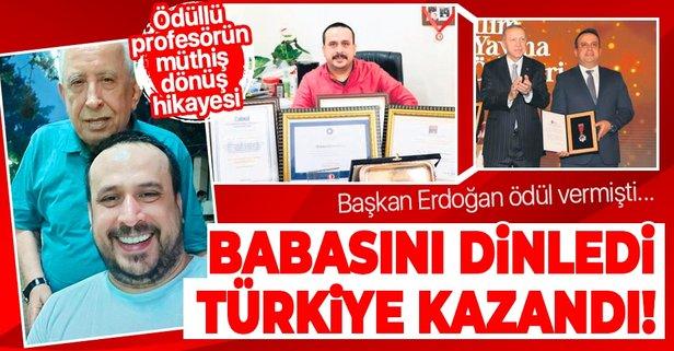 Babasını dinledi Türkiye kazandı