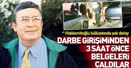Necip Hablemitoğlu suikastında flaş gelişme! Darbeden önce belgeleri çaldılar