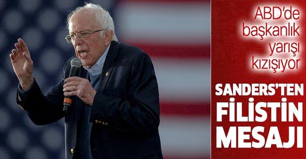 Sanders'ten Orta Doğu barışı mesajı